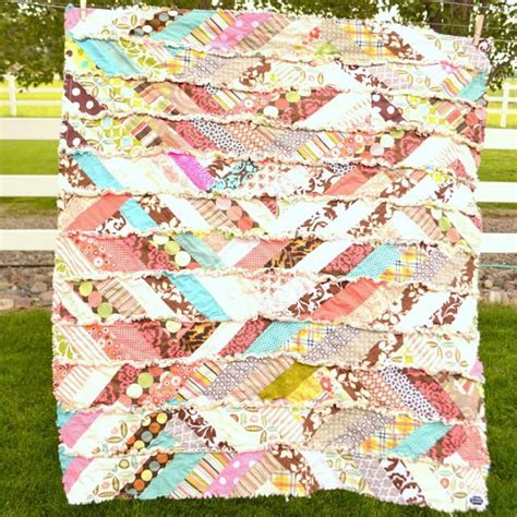 free printable rag quilt patterns autumn scrappy rag quilt pattern allfreesewing com