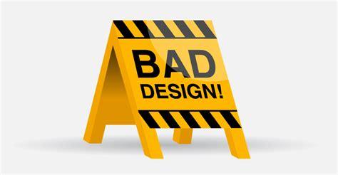 bad design a exle of bad design 812studio