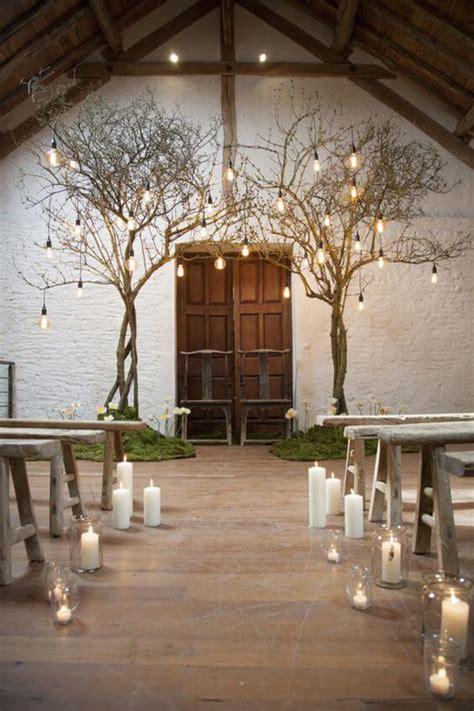 ideias simples de iluminacao  casamento rustico