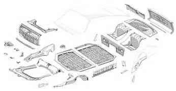 Porsche 911 Parts Restoration Design Inc 911 912 Chassis