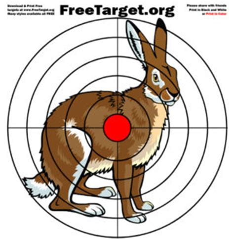 printable rabbit shooting targets freetarget org free printable targets download and