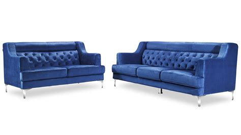 navy blue tufted sofa zara fabric tufted sofa with chrome legs navy blue