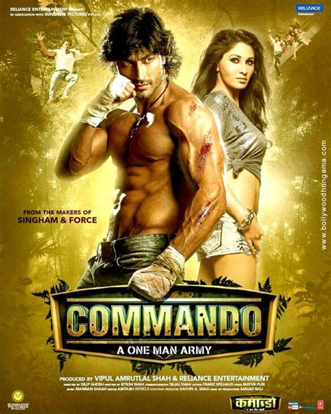film india commando vidyut jamwal s commando hindi movie first look poster