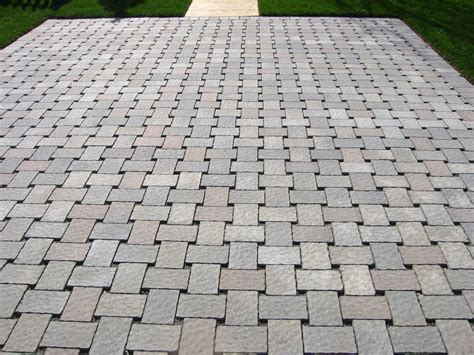 Eco Friendly Patio Pavers by Eco Friendly Driveway And Gardens Mcgarrity Landscaping