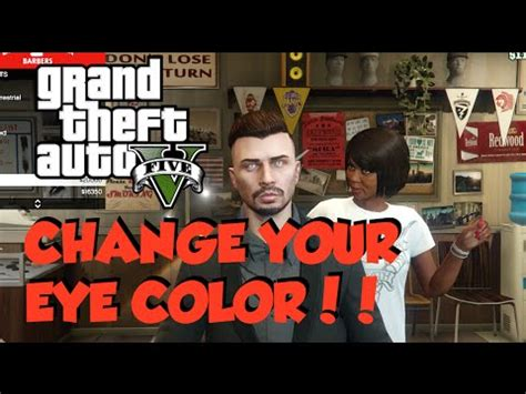 gta online hair colors gta online ps4 xbox one how to change eye color hair