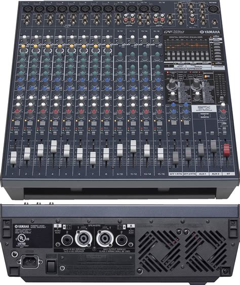 Mixer Audio Yamaha 16 Channel the best audio mixer consoles powered unpowered 2018