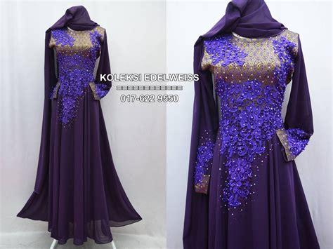 Dress Songket Cantik koleksi edelweiss baju pengantin baju nikah dan tunang