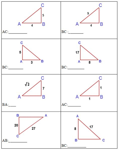 Trigonometry Ratios Worksheet by Edurite Trigonometry Math Worksheet Trigonometry