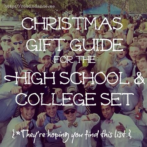 holiday gift ideas for high school student girl 2018 gift guide for and college students robin robin