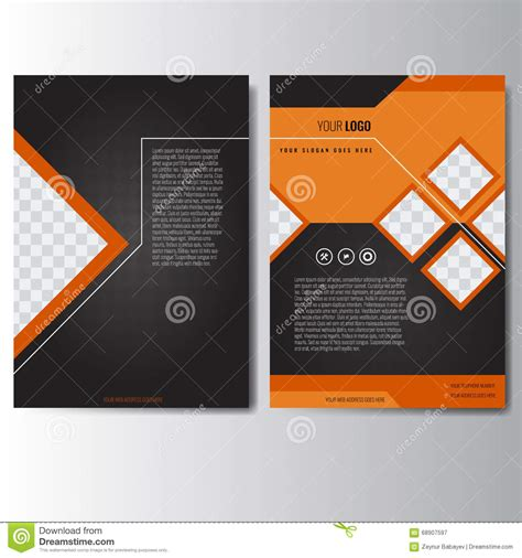 unique design leaflet unique brochure templates 6 best agenda templates
