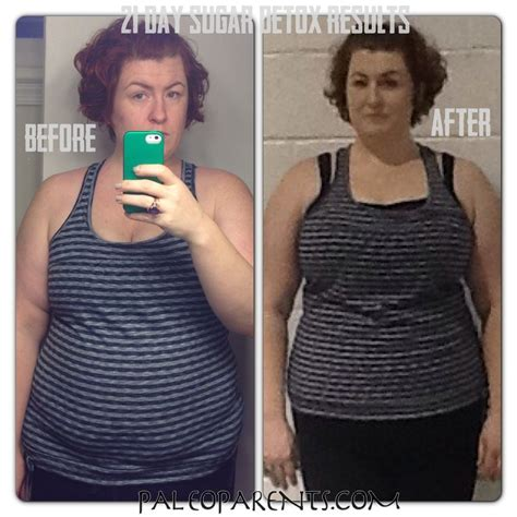 Detox Me Results by The Paleo Diet Suggestion Drastic Before After Photos