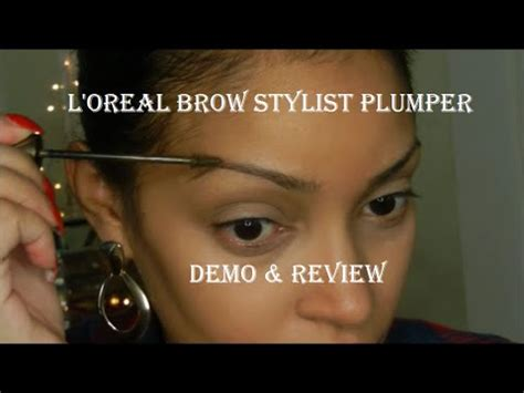 review demo l oreal evercurl review demo l oreal brow stylist plumper gel mascara