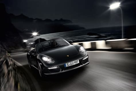 Porsche Schwarz by 2011 Porsche Boxster S Black Edition Wallpapers