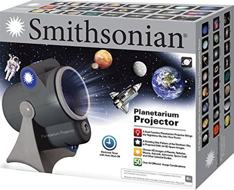 smithsonian room planetarium and projector smithsonian optics room planetarium and dual projector science kit black blue