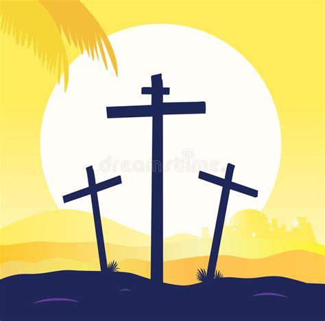 clipart cena crucifica 231 227 o de jesus cena do calvary tr 234 s