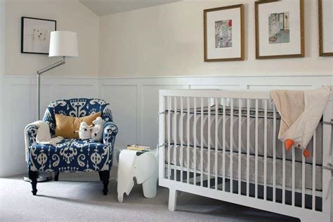 Nursery With Wainscoting by Nursery Wainscoting Contemporary Nursery Deck