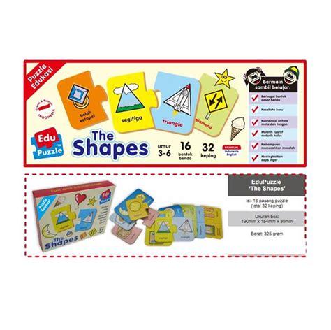 Mainan Bentuk jual mainan edukatif edukasi anak puzzle puzzlo the