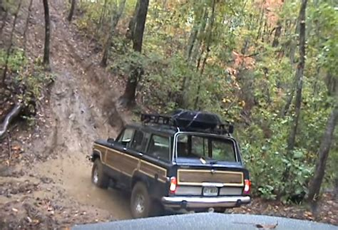 jeep mountain climbing this hill climbing jeep wagoneer is a vehicle jk forum