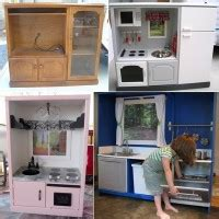 tv cabinet kids kitchen transform an old tv cabinet into a play kitchen for your