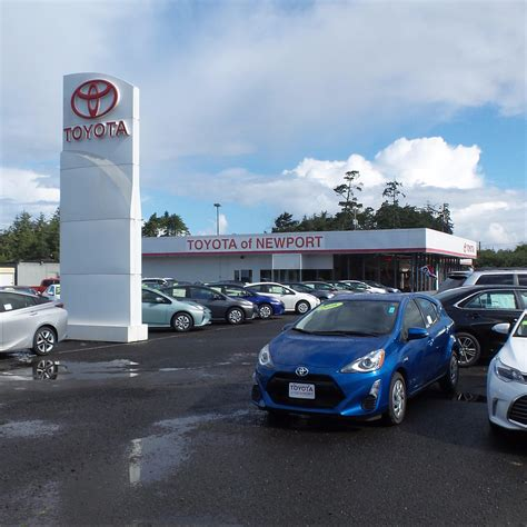 Toyota Dealers Oregon Toyota Of Newport In Newport Or 97366 Chamberofcommerce