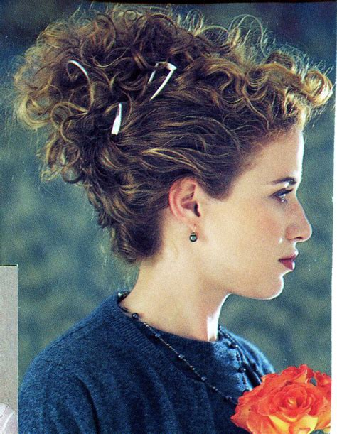 victorian era hairstyles with curls curly hair victorian inspired updo hair pinterest