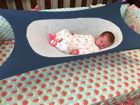 Baby Crib Hammock This Cozy Infant Hammock Aims To Reduce Environmental Factors That Can Lead To Sids Inhabitots