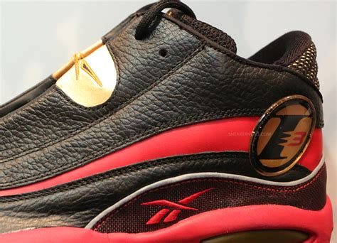 allen iverson shoes black and gold
