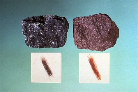 what color is mineral the streak of minerals