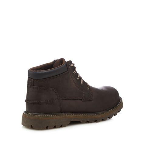 debenhams mens boots caterpillar mens brown doubleday chukka boots from
