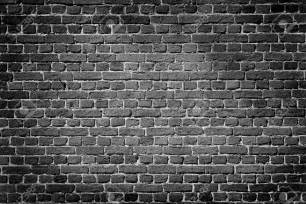 dark wall old dark brick wall texture background stock photo