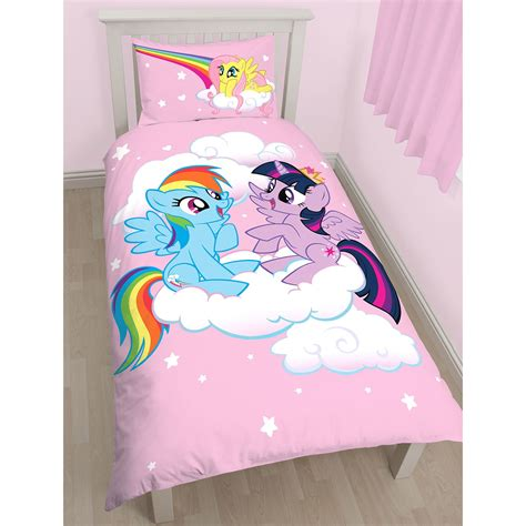 my little pony bedding my little pony single duvet cover sets girls bedroom