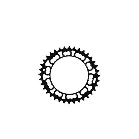 Q Ring Rotor Compact Qxl Bcd 110mm Black rotor qxl chainring 36 teeth 110mm bcd black alltricks