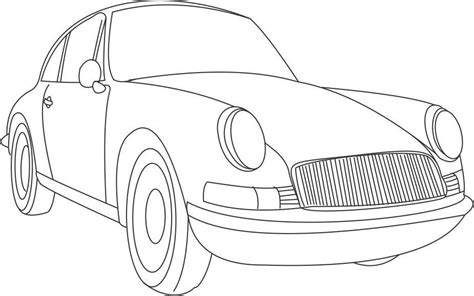 coloring pictures classic cars antique car coloring pages