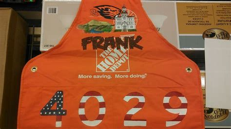 17 best images about home depot aprons i painted on
