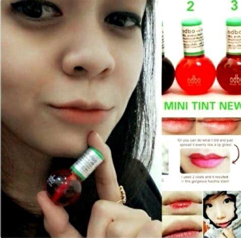 Lip Tint Odbo Pewarna Bibir Korea Asli lip tint odbo gloss pewarna bibir tidak menor soft