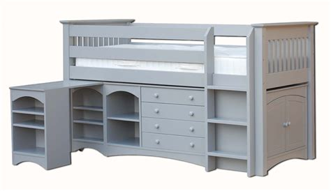 Mid Sleeper Beds For Adults by The Children S Bedroom Company