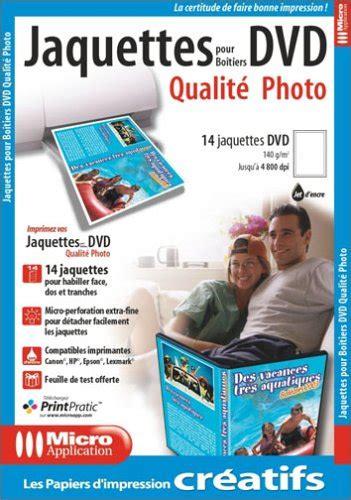 format dvd jaquette papier jaquette dvd pas cher