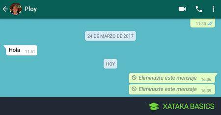 whatsapp basic tutorial c 243 mo borrar mensajes de whatsapp antiguos