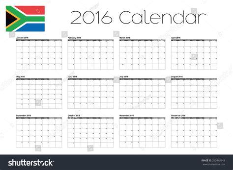 printable year calendar 2016 south africa july 2016 calendar holidays south africa