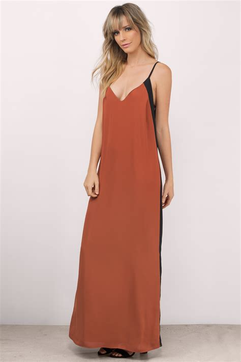 rust colored dress rust colored dresses style color dress