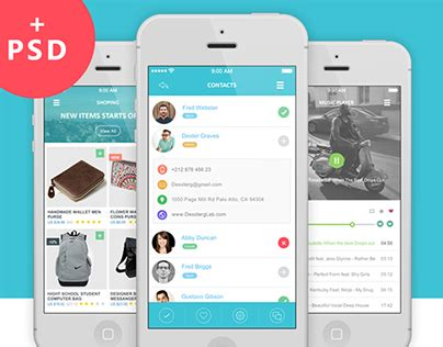 app design on behance flaty s flat mobile app ui design download on behance