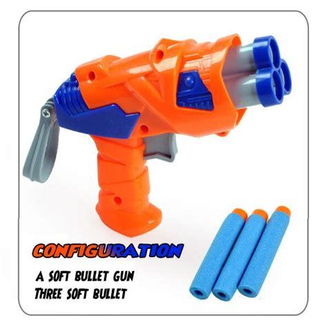 Mainan Pistol Senapan Soft Bullet Flash Sucker shooting gun animasi promotion shop for promotional shooting gun animasi on aliexpress