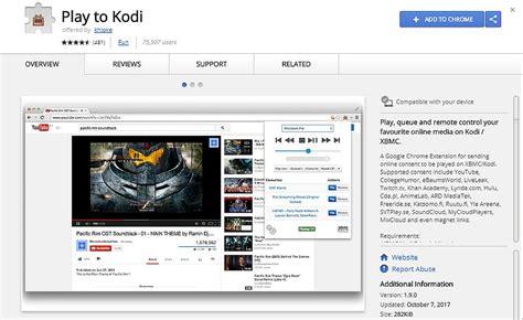 download youtube addon chrome play to kodi extension for chrome senden sie videos aus