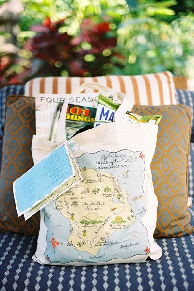 beach themed wedding welcome bags welcome bag ideas for every wedding theme bridalguide