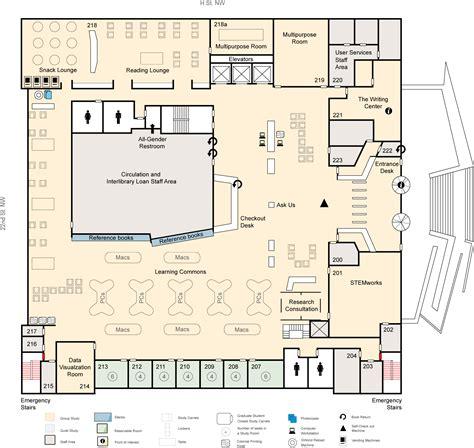 javascript printable version floor maps gw libraries