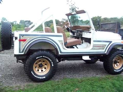 jeep cj golden eagle jeep cj7 golden eagle youtube