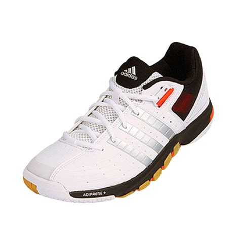 Harga Adidas White Shoes jual adidas quickforce 7 black white sepatu badminton