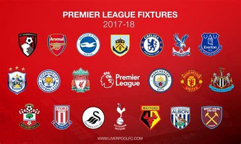 Calendario Liverpool Revelado El Calendario 2017 18 Liverpool Liverpool Fc