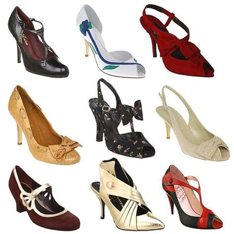 Style Shoes pretty vintage rounds up some vintage style shoes from