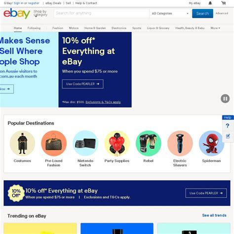 ebay ozbargain 10 off sitewide 75 spend ebay page 2 ozbargain